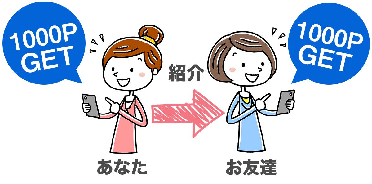 友達紹介P